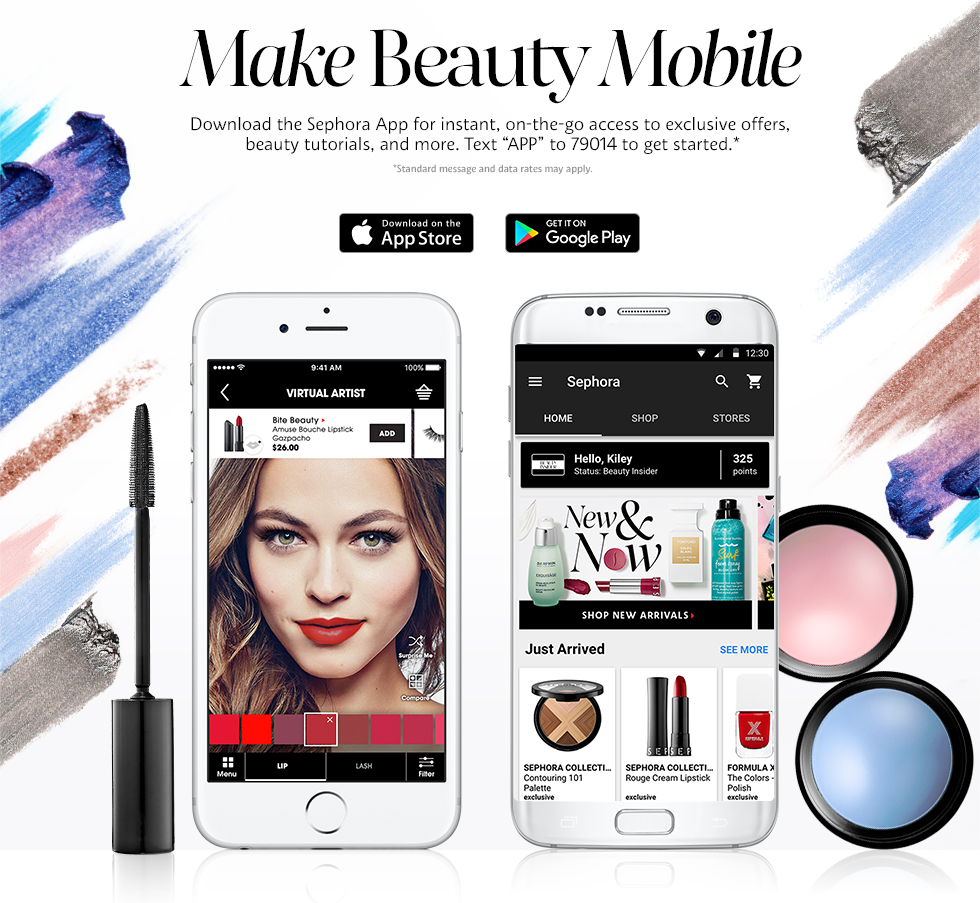 Sephora Mobile app