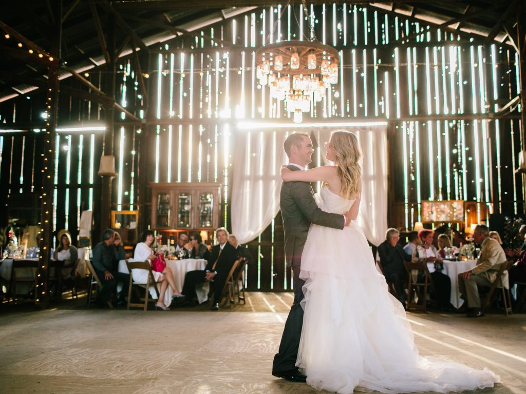 first dance rustic wedding