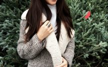 Zara jacket Aritzia sweater