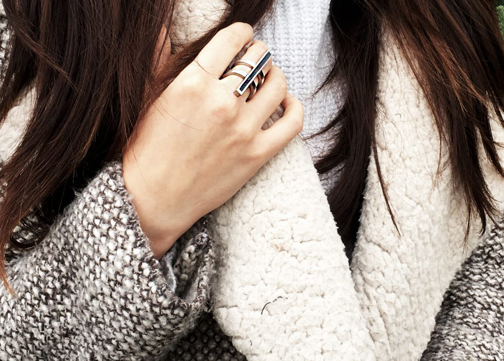 Colleen Poitras ring from Foxsly