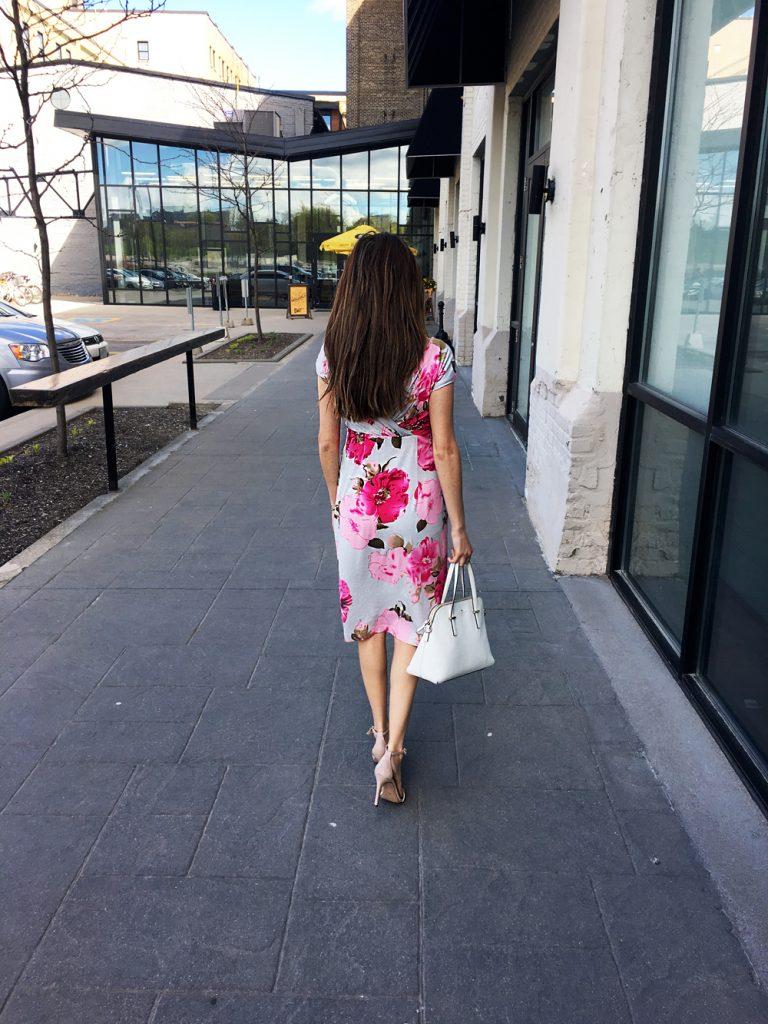 Bardot Dress Grand Jardin