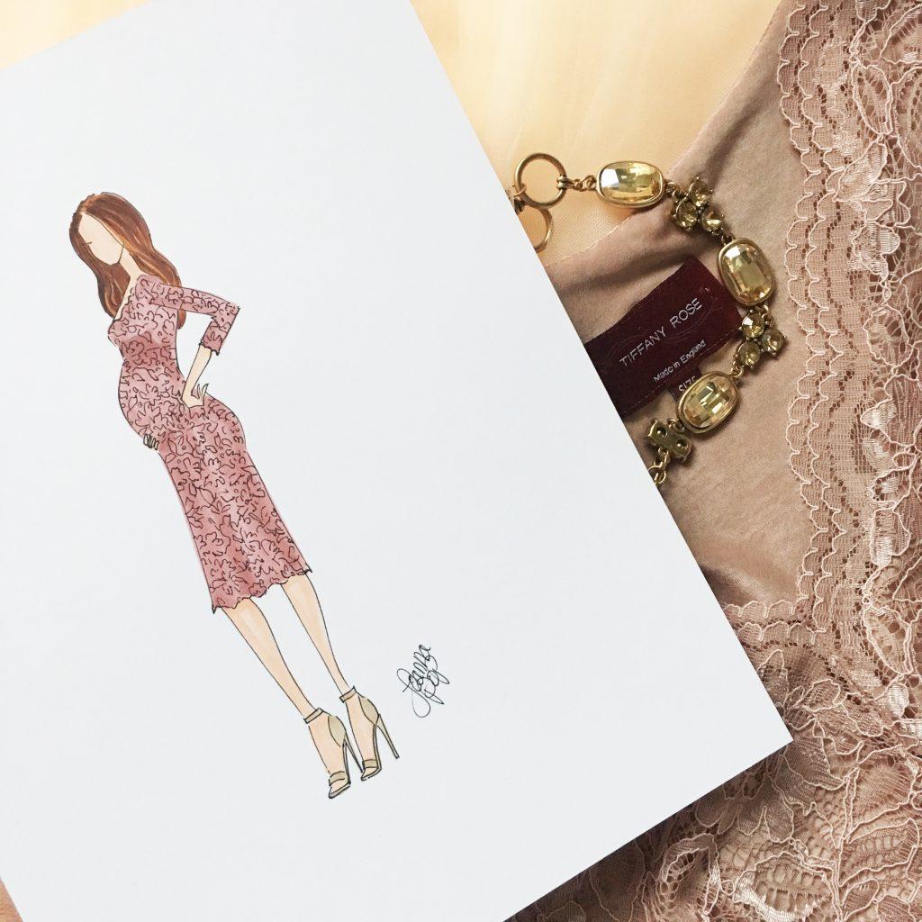 Joanna Pop Fashion Illustratiion