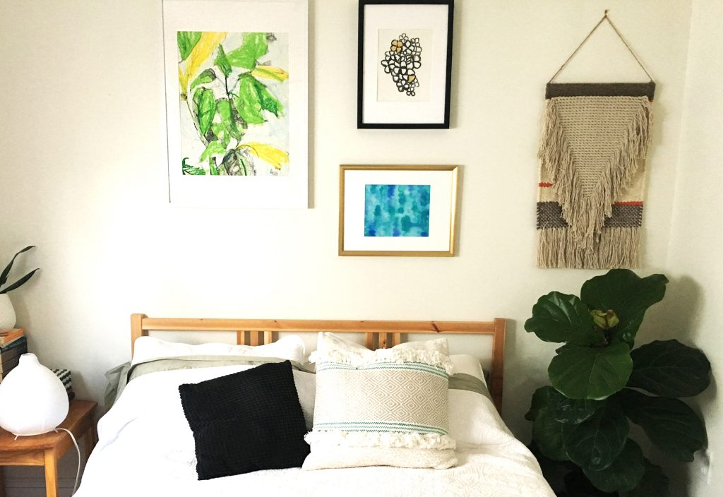 tropical guest room